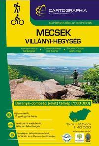 Berki Zoltán (Szerk.), Kovács Attila Gyula (Szerk.): Mecsek, Villányi-hegység turistakalauz - 1:60000 -  (Könyv)