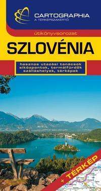 Horváth Tibor: Szlovénia útikönyv - + Térkép -  (Könyv)
