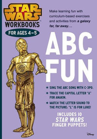 Star Wars Workbooks ABC Fun -  (Könyv)