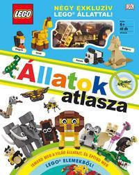 Rona Skene: LEGO Állatok atlasza - Négy exkluzív LEGO állattal! -  (Könyv)