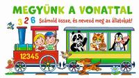 Megyünk a vonattal - Számold össze, és nevezd meg az állatokat! -  (Könyv)