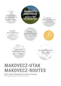 Makovecz-Utak - Első régió: Budapest és Duna-kanyar - Makovecz-Routes - First region: Budapest and the Danube-bend -  (Könyv)