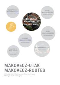 Makovecz-Utak - Ötödik régió: Délnyugat-Magyarország - Makovecz-Routes - Fifth region: Southwest Hungary -  (Könyv)