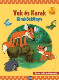 Dargay Attila: Vuk és Karak - Kirakóskönyv -  (Könyv)