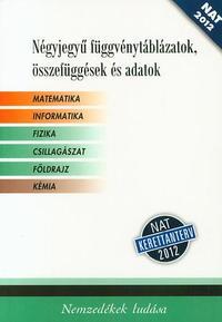 Négyjegyű függvénytáblázat/fehér/NAT -  (Könyv)