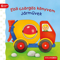 Sandra Grimm: Első csörgős könyvem: Járművek -  (Könyv)