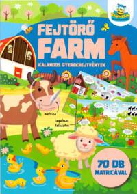 Fejtörő farm - Kalandos gyerekrejtvények -  (Könyv)