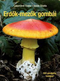 Locsmándi Csaba, Vasas Gizella: Erdők-mezők gombái - Javított utánnyomás -  (Könyv)