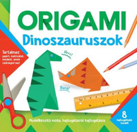 Origami - Dinoszauruszok -  (Könyv)