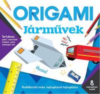 Origami - Járművek -  (Könyv)