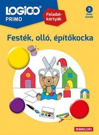Susanna Kortmann, Doris Fischer: LOGICO Primo 3219a - Festék, olló, építőkocka -  (Könyv)