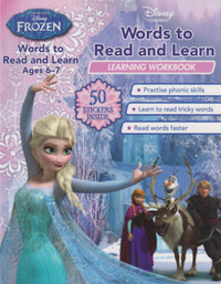 Frozen: Words to Read and Learn -  (Könyv)