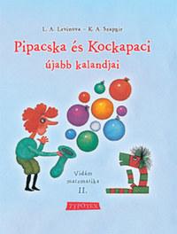 G.V. Szapgir, L.A. Levinova: Pipacska és Kockapaci újabb kalandjai - Vidám matematika II. -  (Könyv)