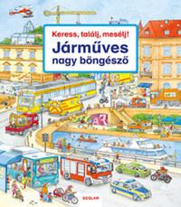 Susanne Gernhauser: Keress, találj, mesélj! - Járműves nagy böngésző -  (Könyv)