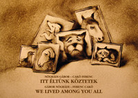 Nógrádi Gábor: Itt éltünk köztetek - We lived among you all - dedikált -  (Könyv)