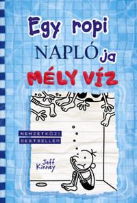 Jeff Kinney: Egy ropi naplója 15. - Mély víz -  (Könyv)