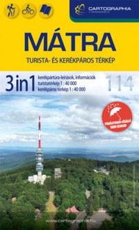 Mátra 3in1 turista- és kerékpáros térkép -  (Könyv)