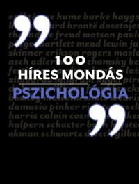 100 híres mondás Pszichológia -  (Könyv)