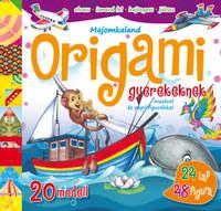 Majomkaland - Origami gyerekeknek - mesével és papírfigurákkal -  (Könyv)