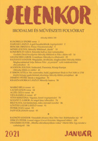 Jelenkor - Irodalmi és művészeti folyóirat - 2021. január -  (Könyv)