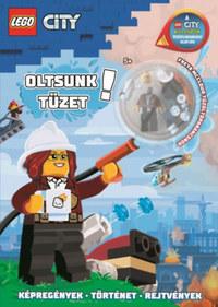 Lego City - Oltsunk tüzet! -  (Könyv)