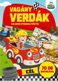 Vagány verdák - Kalandos gyerekrejtvények -  (Könyv)