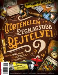 A történelem legnagyobb rejtélyei - Bookazine Plusz -  (Könyv)