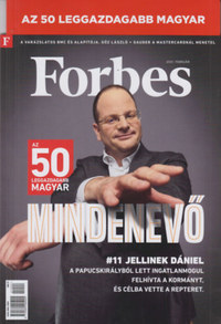 Forbes - 2021. február - Az 50 leggazdagabb magyar -  (Könyv)