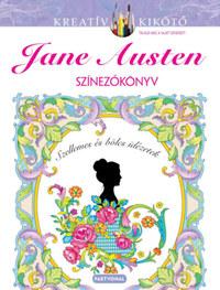 Marty Noble: Jane Austen - Színezőkönyv -  (Könyv)