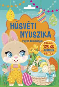 Húsvéti nyuszika rajzos feladványai - Több mint 100 db ajándék matrica -  (Könyv)