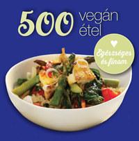 Deborah Gray: 500 vegán étel -  (Könyv)