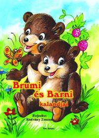Radvány Zsuzsa (ill.): Brumi és Barni kalandjai -  (Könyv)