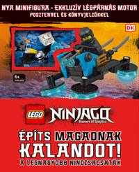 LEGO Ninjago - Építs magadnak kalandot! - A legnagyobb nindzsacsaták -  (Könyv)