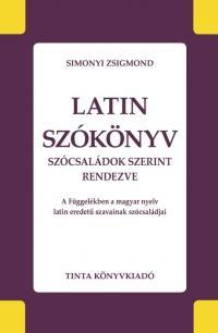 Simonyi Zsigmond: Latin szókönyv -  (Könyv)