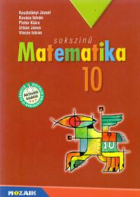 Kovács, Pintér, Kosztolányi: Sokszínű matematika tankönyv 10. osztály -  (Könyv)