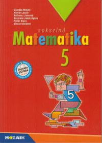 Csordás, Pintér, Konfár László: Sokszínű matematika tankönyv 5. osztály -  (Könyv)