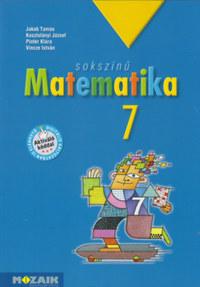 Jakab Tamás, Kosztolányi József, Pintér Klára, Vincze István: Sokszínű matematika tankönyv 7. osztály -  (Könyv)