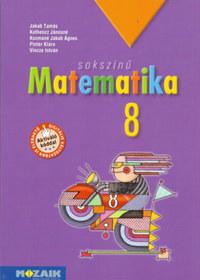 Kothencz Jánosné (és mások), Jakab Tamás: Sokszínű matematika tankönyv 8. osztály -  (Könyv)