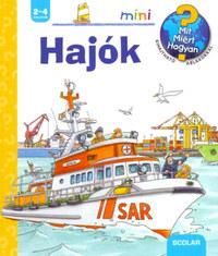 Andrea Erne: Hajók - Kihajtható ablakokkal -  (Könyv)