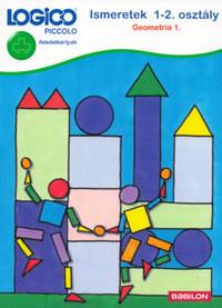 Petra Mieskes: Logico Piccolo 3446 - feladatkártyák - Ismeretek 1-2. osztály: Geometria 1. -  (Könyv)