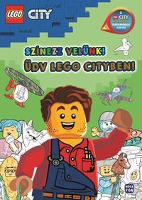 LEGO City - Színezz velünk!  - Üdv Lego Cityben! -  (Könyv)