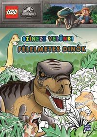 LEGO Jurassic World - Színezz velünk - Félelmetes dinók -  (Könyv)