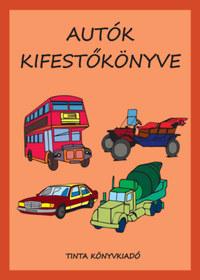 Autók kifestőkönyve -  (Könyv)