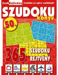 ZsebRejtvény SZUDOKU Könyv 50 -  (Könyv)