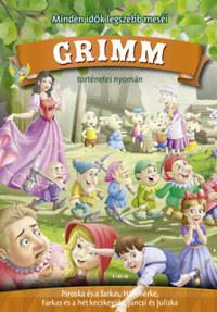Grimm történetei nyomán - Piroska és a farkas, Hófehérke, Farkas és a hét kecskegida, Jancsi és Juliska -  (Könyv)