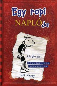 Jeff Kinney: Egy ropi naplója 1. - képSregény -  (Könyv)