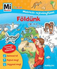 Földünk - Mi MICSODA Junior Matricás rejtvényfüzet - Rejtvények, színezők, matricák! -  (Könyv)