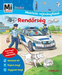 Stefan Richter: Rendőrség - Mi Micsoda Junior Matricás rejtvényfüzet - Rejtvények, színezők, matricák! -  (Könyv)
