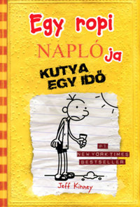 Jeff Kinney: Egy ropi naplója 4. - Kutya egy idő -  (Könyv)