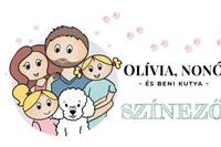 Dr. László Tímea: Olívia, Nonó és Beni kutya színező -  (Könyv)